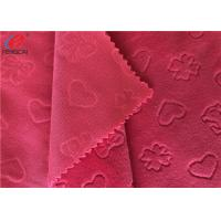 China Embossed Minky Plush Fabric Super Soft Baby Blanket Using 100% Polyester Knitting on sale