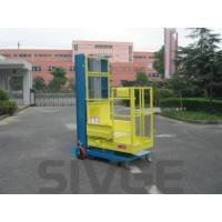 China Mobile Elevating Working Platform , 4.3m Semi - Electric Aerial Order Picker wholesale