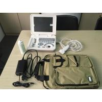 10.8 Inch LED Diagnostic Medical Ultrasound Laptop Ultrasound Scanner With One Probe Connect Vet Software Available