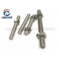 China A4-50 A4-70 A4-80 316L 304 Stainless Steel Full Threaded Rod Stud Bar wholesale