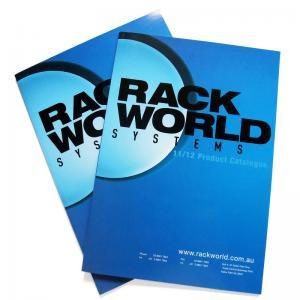 China folded color design binding custom booklet printing on sale