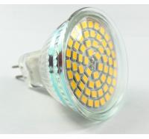 China led spot light 60pcs Epistar led SMD2835 MR16 AC12V 220V dimmable GU10 E27 glass cover wholesale