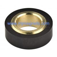 Buy cheap plastic Injection molded ferrite permanent ring magnet for automobile product