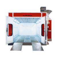 China Professional Infrared Paint Spray Booth , 3-fold Door For Automotive / Car wholesale