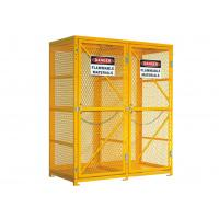 """China 72"""" Mesh Lpg Cylinder Storage Cabinet 65"""" Tall Safety Cages For Gas Bottles wholesale"""