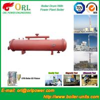 China 300 Ton Ionic Pressure Drum / Stability Low Pressure Boiler Drum ORL Power wholesale