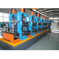 China Steel ERW Straight Seam Pipe Production Line / Welded Tube Mill wholesale