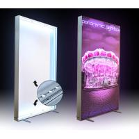 China Free Standing LED Indoor Fabric LED Light Box For Hotel / Shopping Mall wholesale