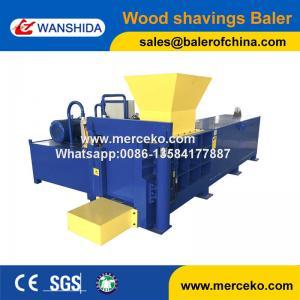 China Wanshida High Quality Hydraulic Rice Hull Baler User Friendly wholesale
