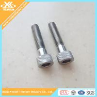 China M6 Alloy Titanium Hex Socket Knurled Head Screws For Sale wholesale