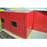 China Red Flammable Safety Cabinets 4 Gallon For Chemical Paint And Inks Storage wholesale