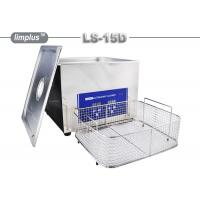 China 15 Liter Limplus Stainless Steel Ultrasonic Cleaner For Kitchen Heavy Oil Remove wholesale