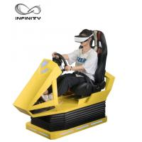 China Manual Operation VR Race car simulator Different Maps High Resolution VR Headset wholesale