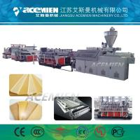 China Durable Foam Plate Making Machine Kitchen Cabinets Furniture PVC WPC Crust wholesale