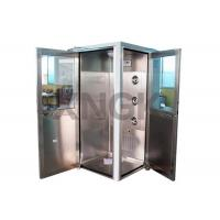 China 90 Degree L Design Clean Room Modular , Stainless Steel Air Showers And Pass Thrus on sale