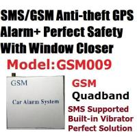China GSM SMS GPS Central Lock Car Security Alarm System on sale