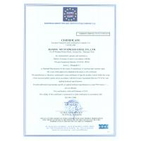 Jiaxing MT stainless steel co.,ltd. Certifications