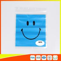 Quality Reclosable custom printed plastic bags Transparent  for Grocery for sale