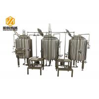 China 300L Pub Brewery In Line Microbrewery Brewing Equipment For Craft Beer wholesale