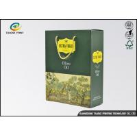 China Customized Olive Oil Paper Box Logo Printed Rectangle Shaped With Long Lifetime wholesale