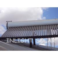 China Customized Color SteeL Rooftop Solar Water Heater , 30 Tube Solar Water Collector wholesale