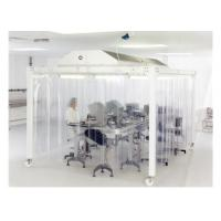 China EBM Fan Lab Modular Softwall Cleanroom / Hospital Class 10000 Clean Room wholesale
