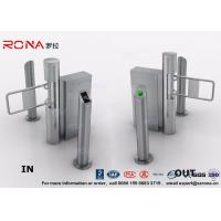 Quality Semi - Automatic Swing Barrier Gate Card Readers for Door Entry Pass System for sale