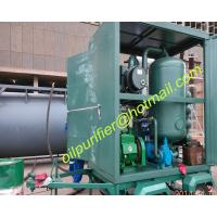 China mobile type vacuum transformer oil filtration equipment with car wheel trailer PLC wholesale