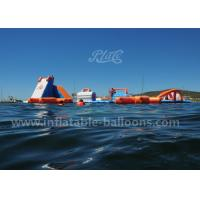 China 135 Persons Ocean Parks Inflatable Water Play Equipment With Water Blob SGS wholesale