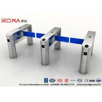 China TCP / IP Security Electro Lock Door Swing Pedestrian Barrier Gate Turnstyle Fastlane Glass wholesale