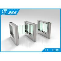 China High Speed Swing Gate Turnstile , Convention Concert Optical Barrier Turnstiles wholesale