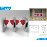 China Security Access Control  Flap Gate Barrier Turnstile Fast Speed For Libratary Exit wholesale