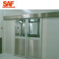 Buy cheap Automatic Sliding Door Cleanroom Air Shower System Tunnel With Custom Width from wholesalers
