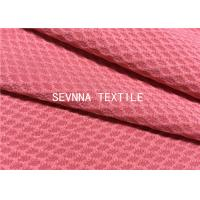 China Solid High Colorfastness Recycled Swimwear Fabric Diamond Textured Spring And Summer Tankini Style wholesale