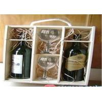 China Customized Luxury Wine Packaging Boxes Recycled Wooden Wine Presentation Box on sale