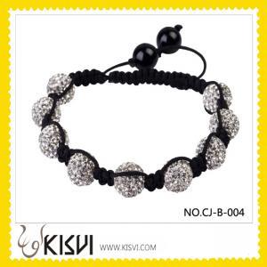 China Fashion Crystal Shamballa Bracelets  wholesale