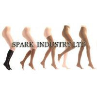 China Medical Compression Stockings With Knee High Anti Embolism Of Black And White wholesale