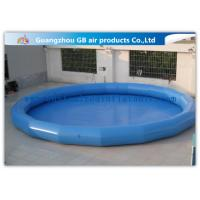 China Safety Round Children Big Inflatable Swimming Pool For Funny Water Game wholesale
