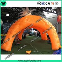 China Giant Inflatable Tent, Orange Inflatable Cube Tent, Event Spider Tent wholesale
