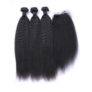 "China Kinky Straight Swiss Lace 10"" 100% Brazilian Virgin Hair wholesale"