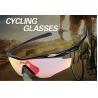 China Wraparound Frame Unisex Outdoor Bike Riding Glasses UV400 Sports Athlete Sunglasses wholesale
