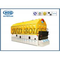China Biomass Fired Wood Burning Steam Boiler Fire / Water Tube High Pressure wholesale