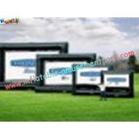 China OEM Outside Wide Inflatable Movie Screen projection Display, Outdoor Large Screen on sale