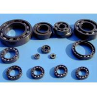 Quality Si3N4 Full Ceramic Bearings , Cage Was Made By PTFE , GFRPA66-25 , PEEK , PI , Phonemic Textiles Tube , etc . for sale