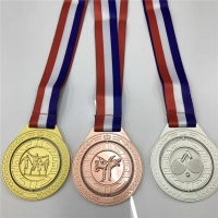 China Gold Plated 3d Blank Award Custom Sports Medals wholesale