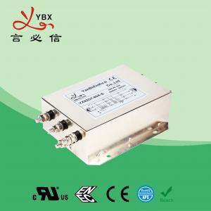 China Yanbixin Three Phase UPS RFI Power Filter / RFI Interference Filter 12.5KW 275V 480V wholesale