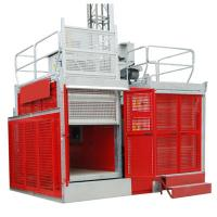 China Rack & Pinion Industrial Lift / Elevators with SAJ50-2.0 Safety Device in China wholesale