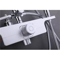 China Concealed Thermostatic Mixing Valve Maximum Flow 26L/Min Multi Layer Nickel Plating wholesale