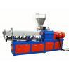 Buy cheap Color masterbatch twin screw extruder machine PP PE masterbatch granulator from wholesalers