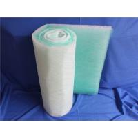 China High Dust Holding Capacity Fiberglass Filter Roll , Fiberglass Air Filter Material Roll wholesale